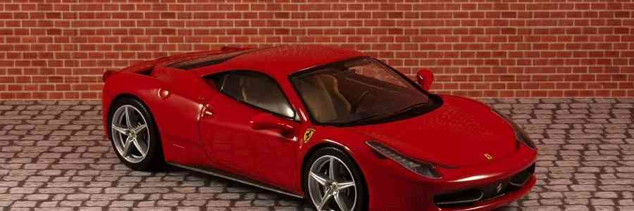 Hot Wheels Elite: Ferrari 458 Italia 1:43