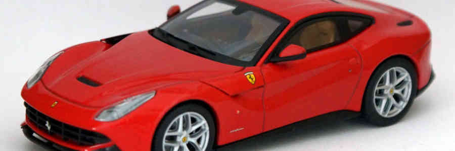 Hot Wheels Elite: Ferrari F12berlinetta 1:43